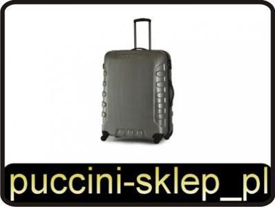 f7d48b84005fb Ekskluzywna Duża walizka PUCCINI PCFX A srebrna - 2839079976 ...