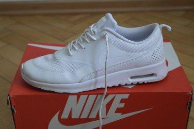 niska cena sprzedaży stabilna jakość piękno Nike Air Max thea białe damskie oryginalne r 41
