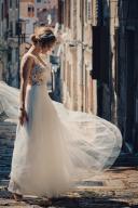 Zjawiskowa suknia ślubna Madonna/Telimena roz XS/S