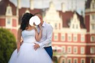 Piękna suknia ślubna DUBER M1432 roz.36