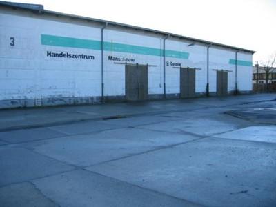 Hala wysokiego składowania w Niemczech 820 m2