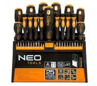 Zestaw śrubokrętow NEO Tools 04-210 37szt 25 LATGW