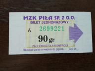 bilet u99 Piła CZG SA 4 odcienie num.