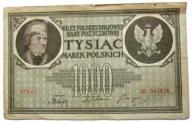 II RP 1000 MAREK POLSKICH 1919 III SERIA C *B778