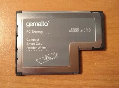 Czytnik Kart Gemalto SmartCard 41N3045 Lenovo