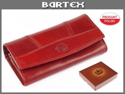 435add355b2d7 PORTFEL DAMSKI SKÓRZANY Bartex 17/6 Produkt Polski - 2675844111 ...