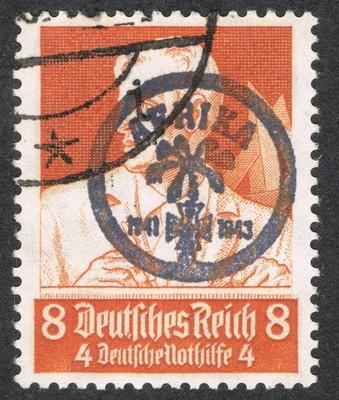 Niemcy znaczek z nadrukiem AFRIKA  1941/43