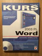 G Kowalczyk Kurs Word 2003 PL Helion Poznań NO-CD