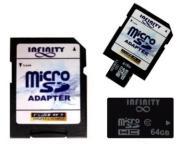 KARTA PAMIECI microSD SDXC SDHC 64GB CLASS 10 UHS1
