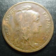 10 centimes 1917 FRANCJA