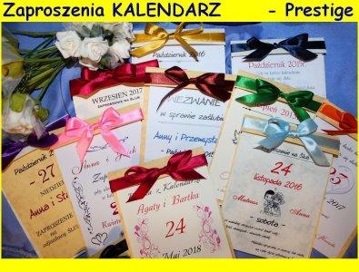 Kartka Z Kalendarza Zaproszenia ślubne Na ślub 6068044516