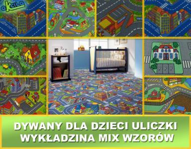 Dywan Dla Dzieci 300 Cm Uliczki City 3d Wykładzina 4641781013