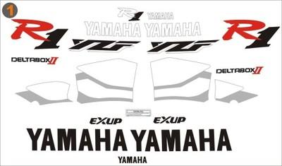 Yamaha YZF R1 1999 r. NAKLEJKI ZAMIENNIKI KPL.
