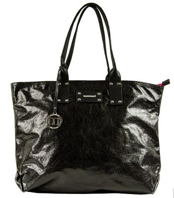 b6a340b4ae2f8 lakierowana czarna MONNARI -50% shopper bag - 6121687025 - oficjalne ...