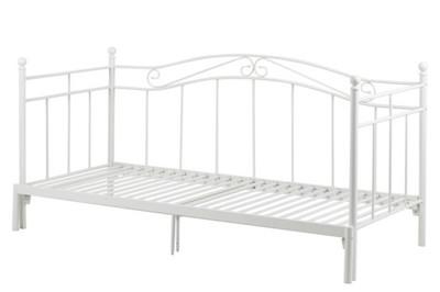 łóżko Princess Białe Rozkładane Metalowe Modo 6988215369