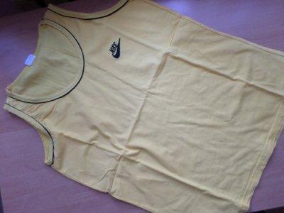 NIKE koszulka t-shirt intensywny żółty BDB r. XL