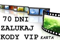 70 DNI KODY VIP ZALUKAJ EXPRES KARTA VIP AUTOMAT