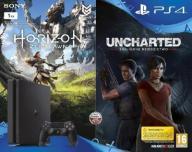Playstation 4 1TB Slim +Horizon ZD+Uncharted ZD
