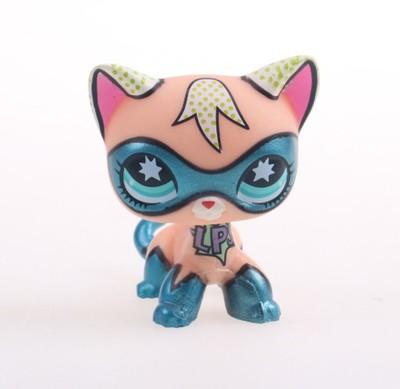 Lps Kot Shorthair Comic Con Masked Super Hero 6880240724 Oficjalne Archiwum Allegro