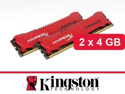 Pamięć RAM Kingston HyperX DDR3 2x 4GB 1600MHz CL9