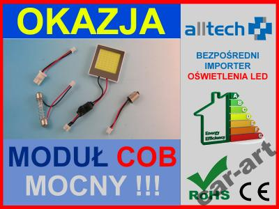 MODUŁ COB 48 chip LED W5W C5W LAMPA PANEL 12v 24v