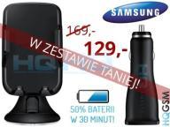 ZESTAW Uchwyt Ładowarka Fast Samsung S6 Edge Plus