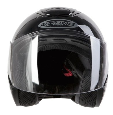 KASK OZONE OPEN FACE CT-01 BLACK XXL+GRATIS