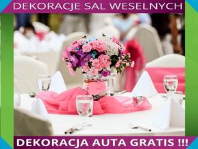 Dekoracje Sal Weselnych Dolny śląsk ślubwesele 6362192931