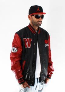 hip hop skórzana kurtka