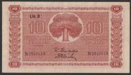Finlandia - 10 markkaa - 1945 rok