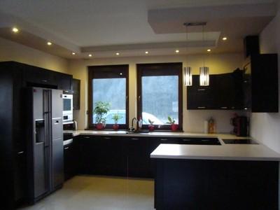 Meble Kuchenne Black Red White Z Wyposazeniem 6617289195