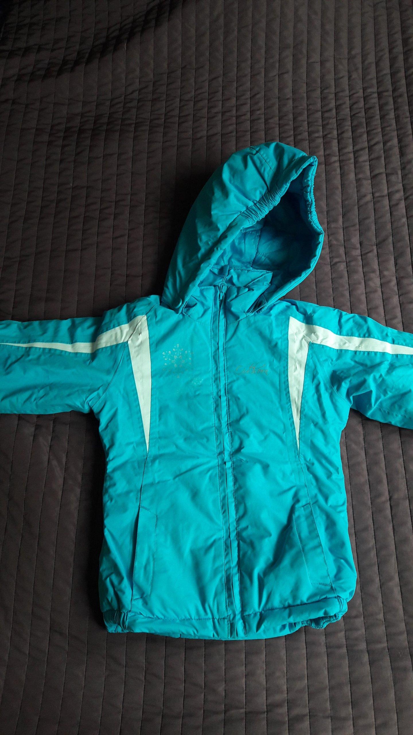 315edcfee637c Kurtka narciarska Outhorn r.110cm dziewczynka - 7012276623 ...