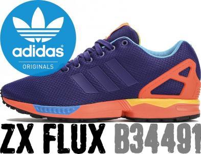 buty adidas pomarańczowo fioletowe