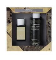 KORRES BLACK PEPPER CASHMERE LEMONWOOD EDT + ŻEL