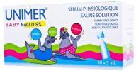 Unimer Baby NaCl 0,9% sól fizjologiczna 50 x 5ml