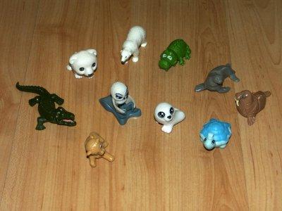 Zabawki Z Kinder Niespodzianki Zwierzatka 6411885138 Oficjalne Archiwum Allegro