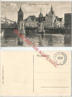Szczecin Hansabrucke, most, bez obiegu