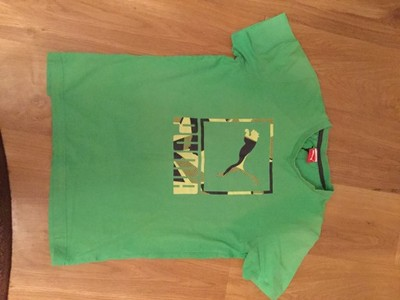 Zielona koszulka Puma roz L