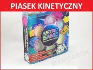 MEGA zestaw PIASEK KINETYCZNY ASTROSAND 6kol SUPER