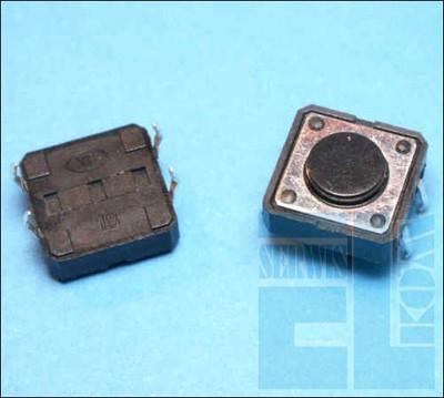 TACT MICRO SWITCH MIKROPRZYCISK 12x12 h-4,3mm 2szt
