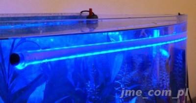 Oświetlenie Akwarium Podwodne 40cm Kolory Pilot 6425261218