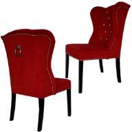 *MeblujemyDOM* Krzesło MATEO PIK kryształki kołatk