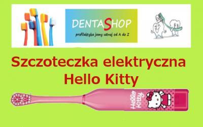 Szczoteczka elektryczna Hello kitty Dr Fresh HIT