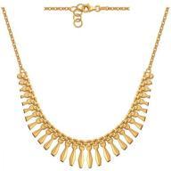 Naszyjnik Łańcuszkowy złoty złoto 585 38165