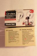 haczyki łazienkowe kuchenne Ordex dwa nowe komplet