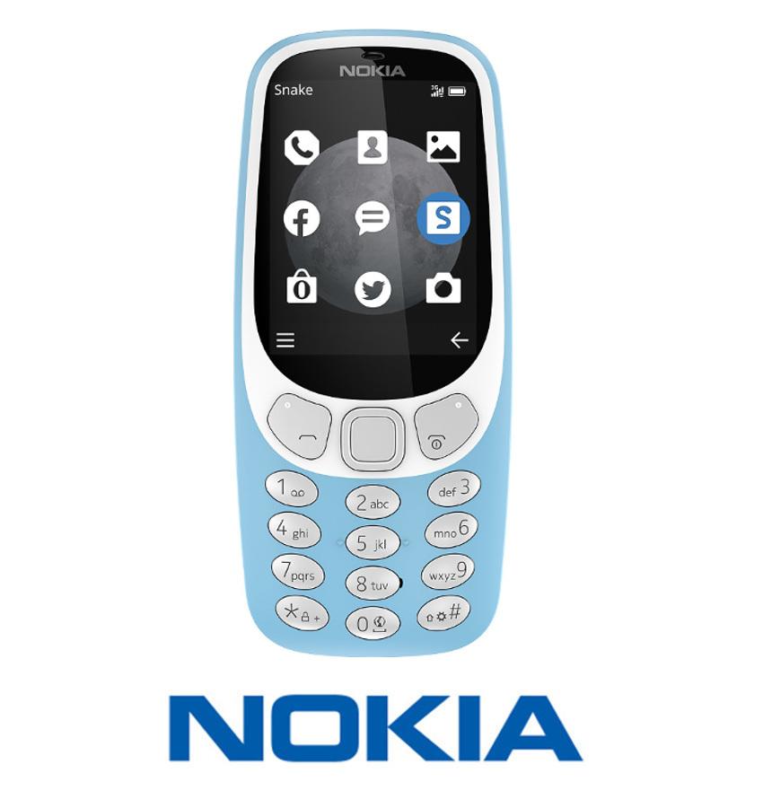TELEFON NOKIA 3310 3G DUAL SIM NIEBIESKA (2017)