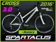 SOLIDNY MODNY ROWER SPARTACUS 2016 CROSS 3.0 GRATS
