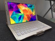 Samsung Galaxy Tab S: tablet + etui + klawiatura