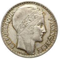 Francja - moneta - 20 Franków 1933 - 2 - SREBRO