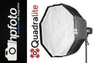 Softbox Quadralite Flex 80cm OCTA - szybki montaż